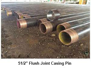 5 1/2 Flush Joint Casing PIN