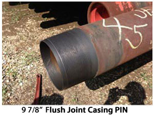wash over pipe casing