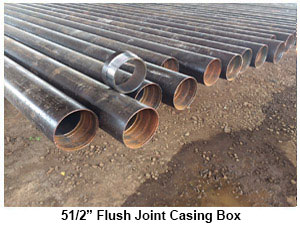 5 1/2 Flush Joint Casing BOX