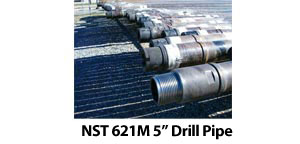 "NST 621M 5"" Drill Pipe"